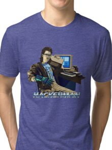 HACKERMAN Tri-blend T-Shirt