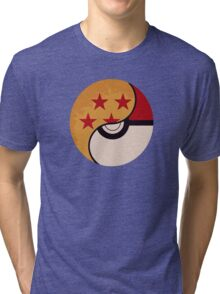 Pokemon DragonBall Fusion  Tri-blend T-Shirt
