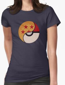 Pokemon DragonBall Fusion  Womens Fitted T-Shirt