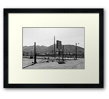 Castle Rock Ranch Framed Print