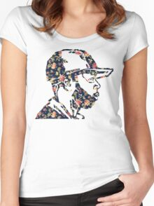 J Dilla Shirt Design  Women's Fitted Scoop T-Shirt