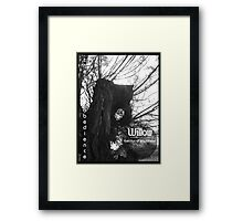 Willow 1 Framed Print