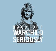 Back Off Warchild - Seriously Womens Fitted T-Shirt