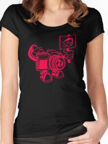 Say Cheese Women's Fitted Scoop T-Shirt