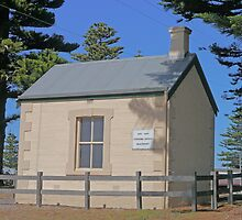Customs Office, Beachport, South Australia - 1879-1900 by Margaret  Hyde