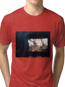 Through the viewfinder - winter blossoms Tri-blend T-Shirt