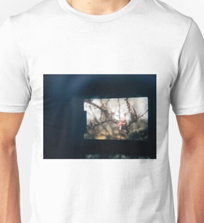 Through the viewfinder - winter blossoms Unisex T-Shirt