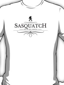 Sasquatch Hide And Seek Champion T-Shirt