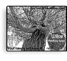 Willow 3 Canvas Print