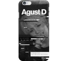 AGUST D Phone Case BTS V2 iPhone Case/Skin