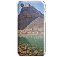 Emerald Lake below Mount Timpanogos iPhone Case/Skin