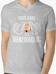 This Girl is a BenzoHolic Mens V-Neck T-Shirt