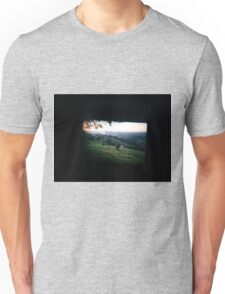 Through the viewfinder - Byron ranges Unisex T-Shirt
