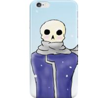 Death Thinks He's a Snowman iPhone Case/Skin