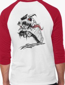 BOXKAR MONSTER Men's Baseball ¾ T-Shirt