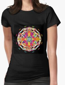 The Cat Empire - Mandala colorfull Womens Fitted T-Shirt