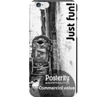 Posterity iPhone Case/Skin