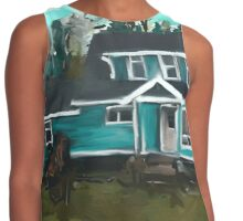 Green Acres Contrast Tank