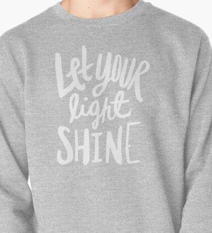 Let Your Light Shine x Mustard Pullover