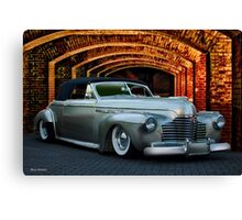 1941 Buick Roadmaster Convertible Canvas Print