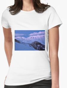 Castelluccio after the sunset Womens Fitted T-Shirt