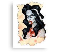 Vampire Canvas Print