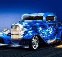 1932 Ford 'Boy Blue' Coupe I by DaveKoontz