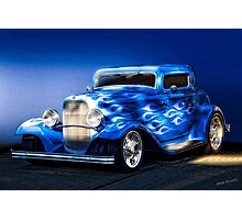 1932 Ford 'Boy Blue' Coupe I Photographic Print