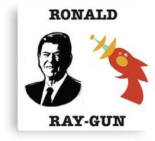 Ronald Ray-gun Canvas Print