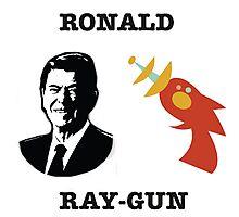 Ronald Ray-gun Photographic Print