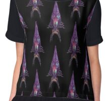 Mass Effect - Colorful Reaper Chiffon Top
