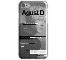 AGUST D Phone Case BTS V5 iPhone Case/Skin