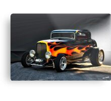1932 Ford 'Hell's HiBoy' Coupe Metal Print