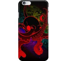 Psychedelic Octopus. iPhone Case/Skin