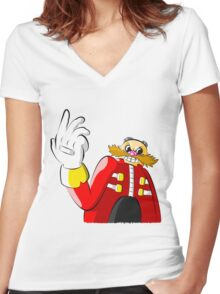 I Have the Master Plan Women's Fitted V-Neck T-Shirt