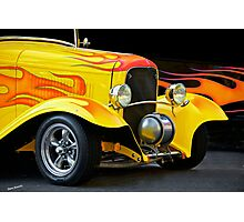 1932 Ford 'Fire with Fire' Coupe Photographic Print