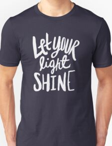Let Your Light Shine x Navy Unisex T-Shirt