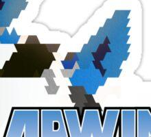 Arwing Hexel Sticker