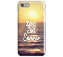Long Live the Summer iPhone Case/Skin