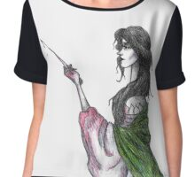 Crimson Peak Inspired Art Chiffon Top