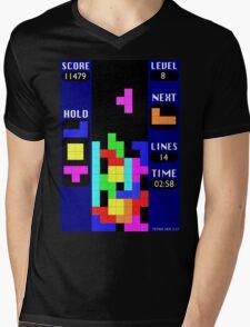 The Blocks Are Back Mens V-Neck T-Shirt