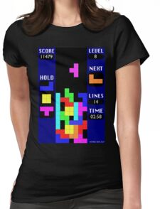 The Blocks Are Back Womens Fitted T-Shirt