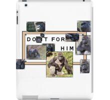 Do It For Harambe  iPad Case/Skin