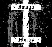 Double Cross Sticker by Imago-Mortis