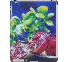 Pomegranates & Jade iPad Case/Skin