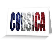 Corsica. Greeting Card