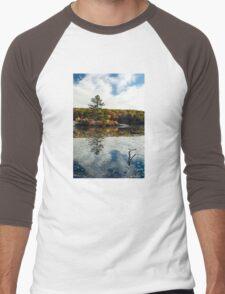 Glass Mirror Men's Baseball ¾ T-Shirt