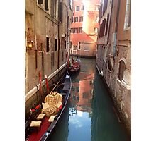 Venetian Canals Photographic Print