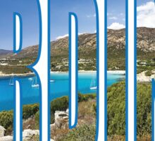 Sardinia Sticker