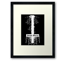 Inverted Cross Framed Print